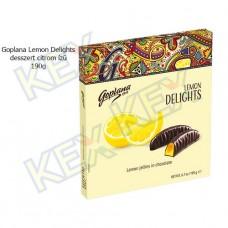 Goplana Lemon Delights desszert citrom ízű 190g
