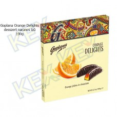 Goplana Orange Delights desszert narancs ízű 190g