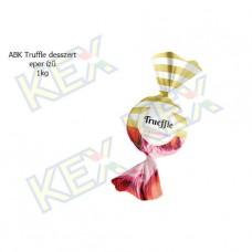 ABK Truffle desszert eper ízű 1kg