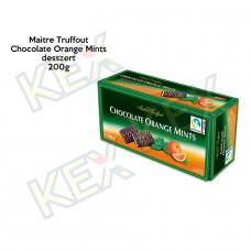 Maitre Truffout Chocolate Orange Mints 200g