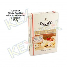 Duc d'O White Truffles with Strawberries 100g