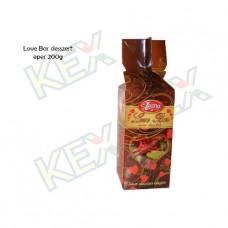 Leona Love Bar desszert eper ízű krémmel 200g