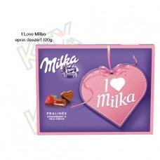 I Love Milka praliné eperkrémes 110g