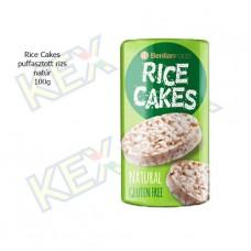 Rice Cakes puffasztott rizs natúr 100g