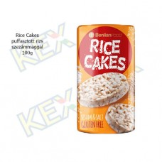 Rice Cakes puffasztott rizs szezámmaggal 100g