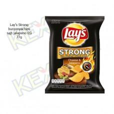 Lay's Strong burgonyachips sajt-jalapeno ízű 77g