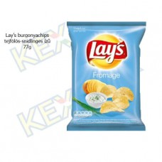 Lay's burgonyachips tejfölös-snidlinges ízű 77g