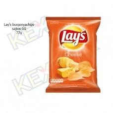 Lay's burgonyachips sajtos ízű 77g