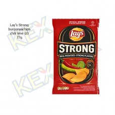Lay's Strong burgonyachips chili-lime ízű 77g