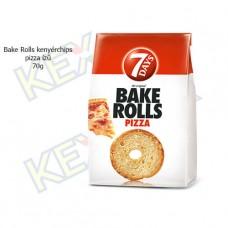 Bake Rolls kenyérchips pizza ízű 70g