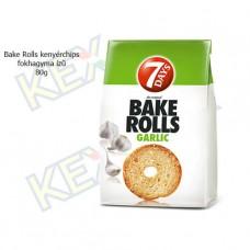 Bake Rolls kenyérchips fokhagyma ízű 80g