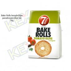 Bake Rolls kenyérchips paradicsom-olíva ízű 70g