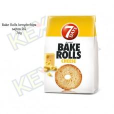 Bake Rolls kenyérchips sajtos ízű 70g
