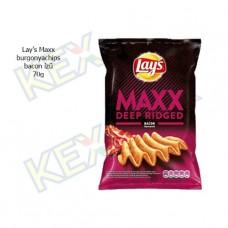 Lay's Maxx burgonyachips bacon ízű 70g
