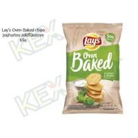 Lay's Oven Baked chips joghurtos-zöldfűszeres ízű 65g