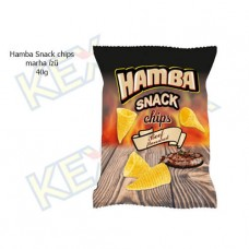 Hamba Snack chips marha ízű 40g