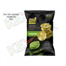 Rice Up! rizschips wasabi ízű 60g