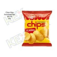 Chips Way burgonyachips sós ízű 40g