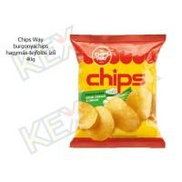 Chips Way burgonyachips hagymás-tejfölös ízű 40g