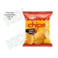 Chips Way burgonyachips chilli ízű 40g
