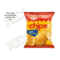 Chips Way burgonyachips ketchup ízű 40g