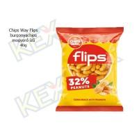 Chips Way Flips mogyoró ízű 40g