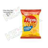 Chips Way Flips  sajtos ízű 40g