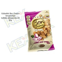 Gudobele Bon Chance kenyérchips tejfölös-újhagymás ízben 60g