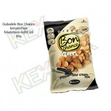 Gudobele Bon Chance kenyérchips feketebors-tejföl ízű 60g