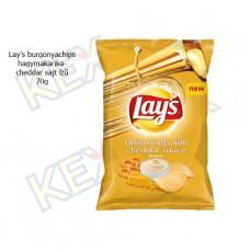 Lay's burgonyachips hagymakarika-cheddar sajt ízű 70g