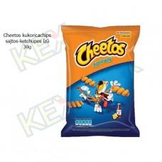 Cheetos kukoricachips sajtos-ketchupos ízű 30g