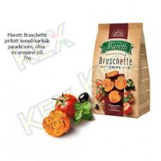 Maretti Bruschette pirított kenyérkarikák paradicsom-oliva-oregánó ízű 70g