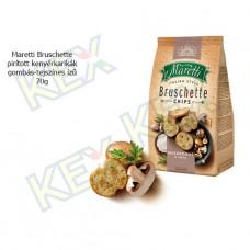 Maretti Bruschette pirított kenyérkarikák gombás-tejszínes ízű 70g