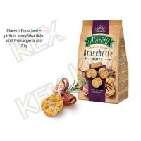 Maretti Bruschette pirított kenyérkarikák sült fokhagymás ízű 70g