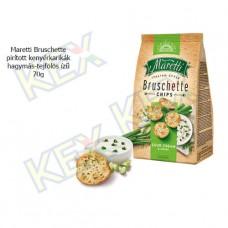 Maretti Bruschette pirított kenyérkarikák hagymás-tejfölös ízű 70g