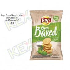 Lay's Oven Baked chips joghurtos-zöldfűszeres ízű 120g