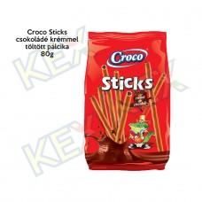 Croco Sticks csokoládé krémmel töltött pálcika 80g