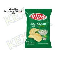 Vipa chips hagymás-tejfölös ízű 35g