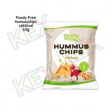 Foody Free humuszchips céklával 50g