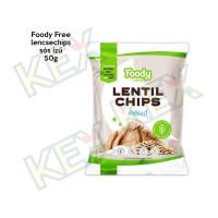 Foody Free lencsechips sós ízű 50g