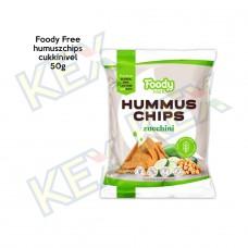 Foody Free humuszchips cukkinivel 50g