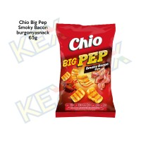 Chio Big Pep Smoky Bacon burgonyasnack 65g