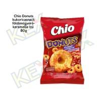 Chio Donuts kukoricasnack földimogyoró-karamella ízű 80g