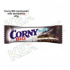 Corny BIG müzliszelet milk dark-white 40g