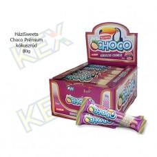 HáziSweets Choco Prémium fehér kókuszrúd 80g