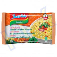 Indomie instant tésztaleves különleges csirke ízű fokhagymás olajjal 75g