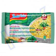 Indomie instant tésztaleves mediterrán zöldség ízű 70g