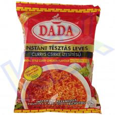 Dada instant tésztaleves currys csirke ízű 60g