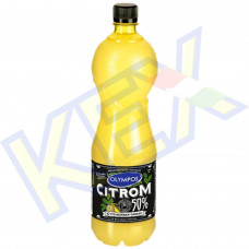 Olympos citrom ízesítő 50% citromlé tartalommal 1L