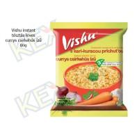 Vishu instant tésztás leves currys csirkehús ízű 60g